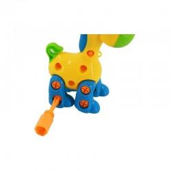 Arrastre jirafa desarmable, con herramientas