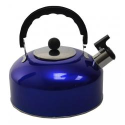 Caldera Acero 3 Lts Color Azul