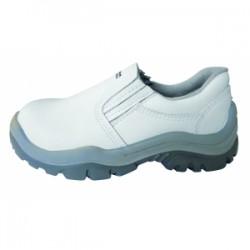 Zapato Blanco S/Cordón P/Plástica
