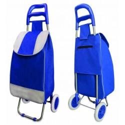 Bolso Para Feria Azul