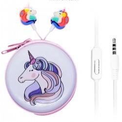 Auricular Manos Libres Unicornio con Estuche