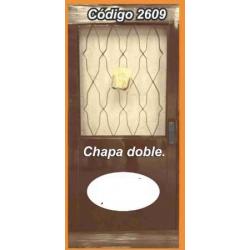 Puerta de Chapa Doble Modelo 2609