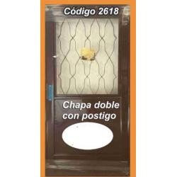 Puerta de Chapa Doble Modelo 2618