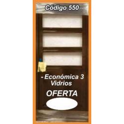 Puerta de Chapa Modelo 550