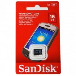 Memoria SANDISK Micro-Sd 16 GB