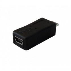 Adaptador MINI USB H a MICRO USB M