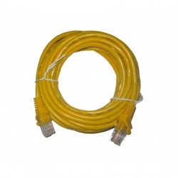 Cable de Red Amarillo 1.5 Mts