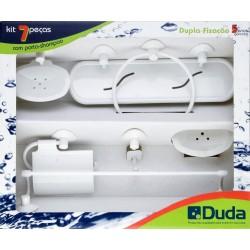 Accesorios de Baño DUDA Genebra 7 Pzas. Blanco