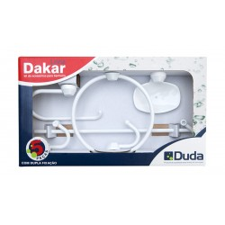 Accesorios de Baño DUDA Dakar 5 Pzas. Blanco