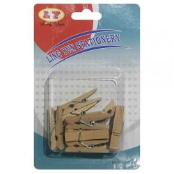 Palillos de Madera Deco. x10
