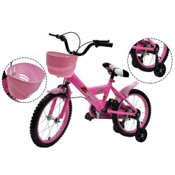 Bicicleta R-16 Rosada